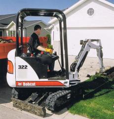 Excavators, Model 332 Compact