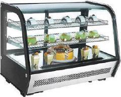 Bench top display refrigerated