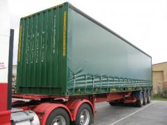 Curtain Side Containers