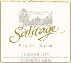 Salitage Pinot Noir 2008 Wine