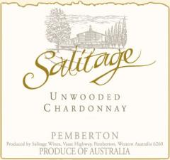 Salitage Unwooded Chardonnay 2009 Wine