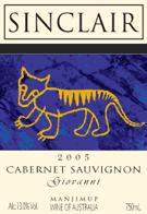 Museum: 2005 Cabernet Sauvignon Giovanni Wine