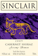 2009 Cabernet Shiraz Jeremy Simon Wine