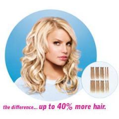 Hairdo 10pc Human Hair Clip-In Extensions