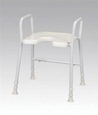 Aluminium Shower Stool & Arms