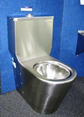 Britex Stainless Steel Toilet Suite - WC
