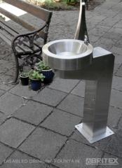 Britex Disabled Pedestal Drinking Fountain