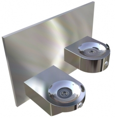 Britex Stainless Steel Dado Disabled Drinking Fountain