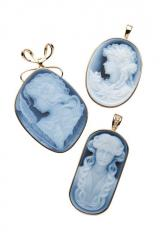 Agate Cameos jewellery