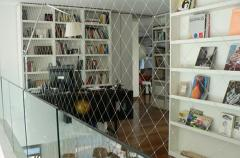 Safety Nets System to Childproof Open Areas