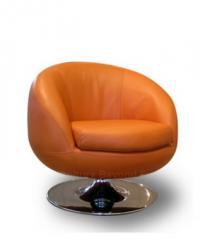Mondo Leather Chair KUMQUAT