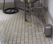 Floors, Corrosion Resistant Tiled