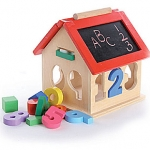 House Number Sorter Wooden Toy