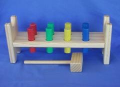 Hammer Peg Wooden Toy
