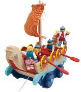 Viking Ship Pull Along Toy
