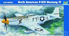 Plane North American P-51D Mustang IV