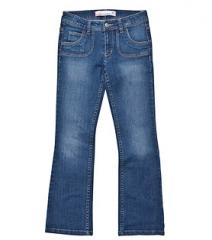 Girls Pocket Detail Bootcut Jean