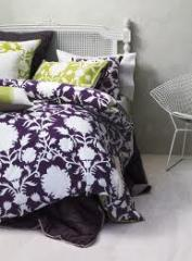 Sienna in Blackberry and Palm Quilt Cover