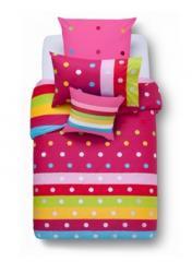 Esprit Sprinkles Pink Quilt Cover Set
