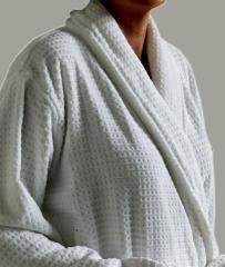 100% Cotton Velour Bathrobe