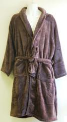 Coral Fleece Bath Robe