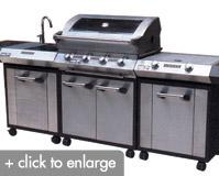 SUNCO: SC28 4 Burner Outdoor Kitchen