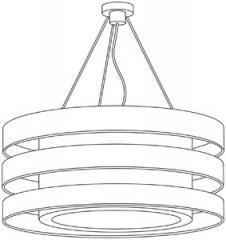 3 Ring Pendant