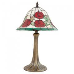 Tiffany Rose Lamp