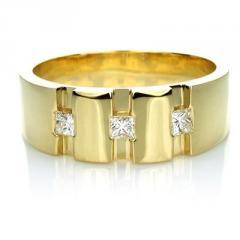 The Marco Mens Diamond Wedding/Dress Ring