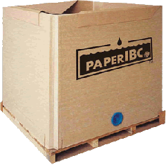 Tripak paper IBC for bulk liquid & solid