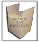 H. duty TV and monitor box