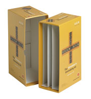 Rigid paper wrapped boxes & folders
