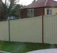 Sheet Fencing