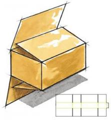 Full flap slotted container (FFSC or FOL)