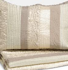 Champagne coverlet