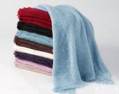Mohair Throw Rugs