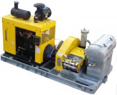 Jetsream high pressure waterblasting units