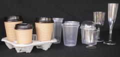 Paper or plastic cups