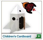 Creative cardboard for kids