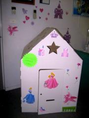 Children's cardboard items