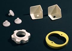 Various items - knobs, brackets, etc.