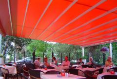 Leiner SunRain - Pergola Retractable Roof System