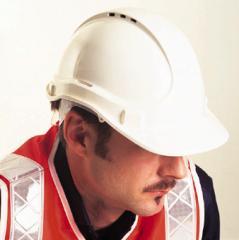 White Safety Helmet, Norton