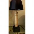 Pair of 20th Century Ash Lamps