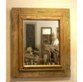 19th Century Wooden Mirror