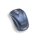 Microsoft Wireless Notebook Optical Mouse Blue