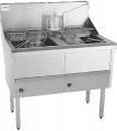 High capacity deep fryer