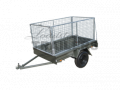7x4ft 12inch Trailer with 900mm Cage