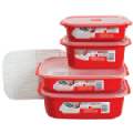 Microwavable Storage Containers