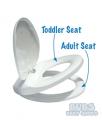 Lupi Lu Toilet Seat Dual White